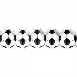 Banderole foot noire et blanche