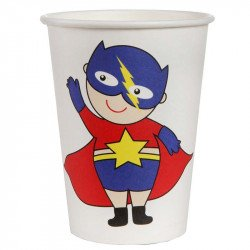 Gobelet Super héros boy (x10)