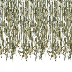Rideau de feuilles botanique