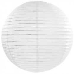 Lampion en papier - Blanc