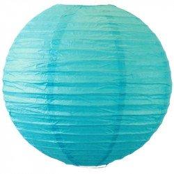 Lampion en papier - Turquoise