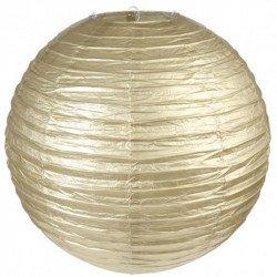 Lampion en papier - Doré