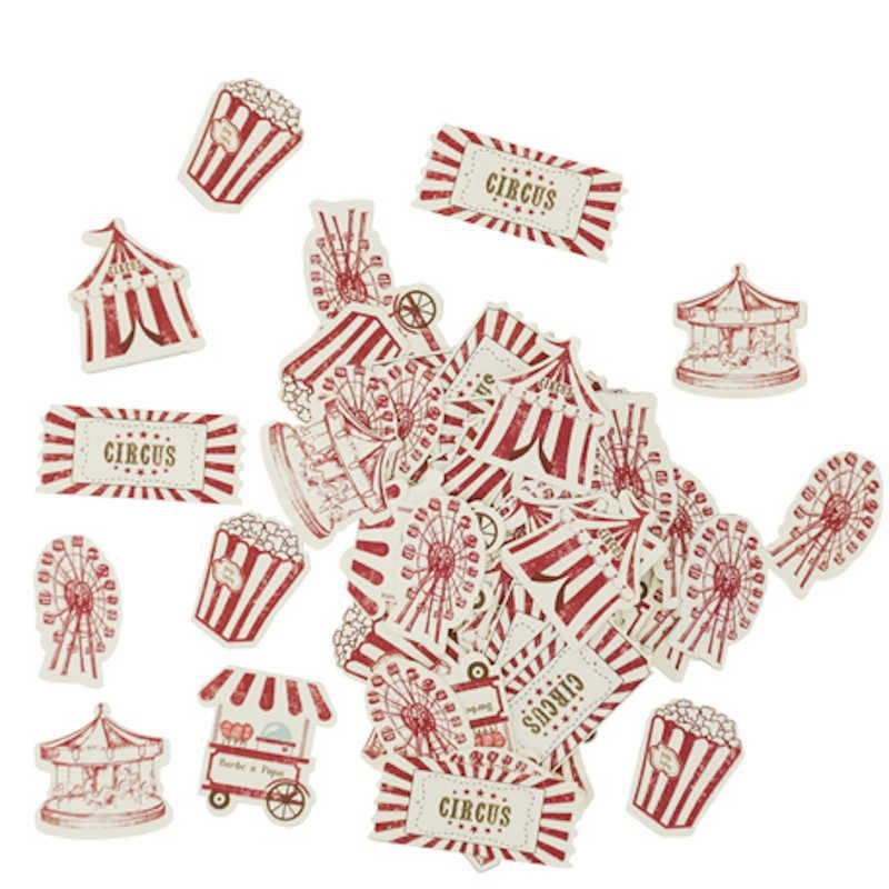 """Confettis """"Circus"""" (x100)"""