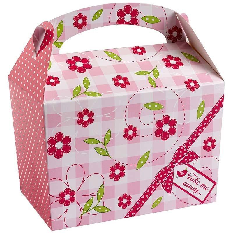 Boîte Litlle Bird rose bonbon (x8)