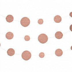 Guirlande confettis glitter - 4.50M