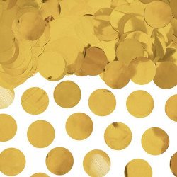 Confettis Ronds métalliques - Or