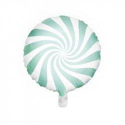 "Ballon mylar  ""Bonbon"" 45 cm - Menthe"