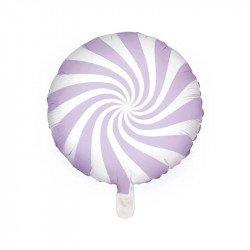 "Ballon mylar  ""Bonbon"" 45 cm - Violet"