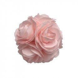 Boule de Roses en mousse - Rose pastel