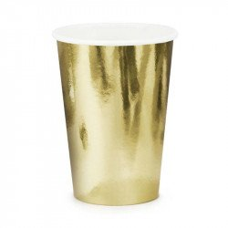 Gobelets Gold (x6)