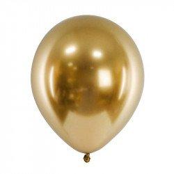 Ballons chromés - 30 cm (x3) - Or