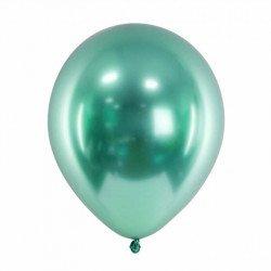 Ballons chromés - 30 cm (x3) - Menthe