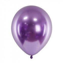 Ballons chromés - 30 cm (x3) - Violet