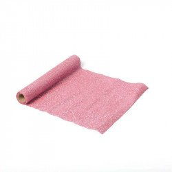 Chemin de table paillettes scintillantes - Rose
