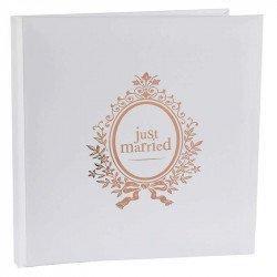 "Livre d'Or ""Just Married"" Rose Gold"