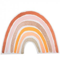 Sets de table Arc-en-ciel Terracotta (x4)