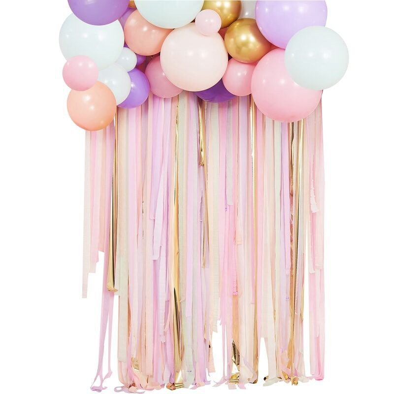 Kit déco Pastel Ruban et Ballons