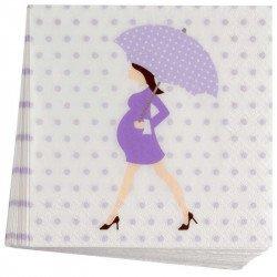 Serviettes Baby Shower (x20)