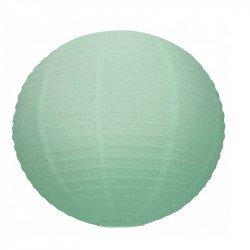 Lampion en papier uni - 50 cm - Menthe