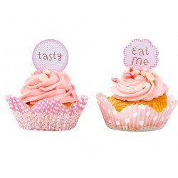 Moule à cupcake avec message