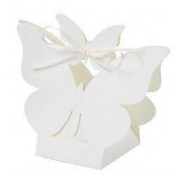 Boîtes dragées papillons (x10)