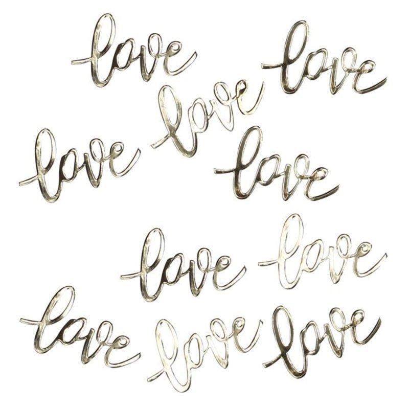 Confettis LOVE - OR