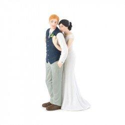 Figurine Les Mariés Enlacés