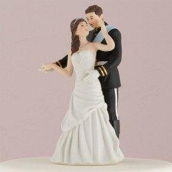 Figurine de pièce montée Prince et Princesse