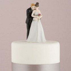 Figurine Couple et sa rose