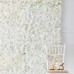 Carré de fleurs à accrocher au mur