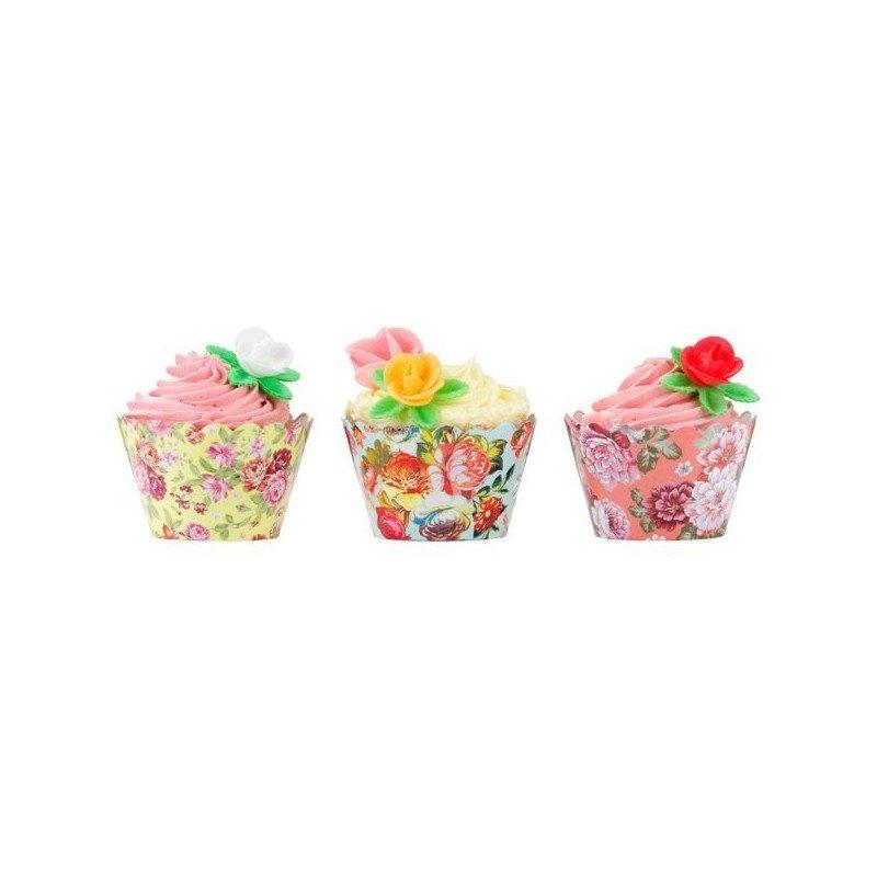 test altseoMoule à cupcake fleuri - 24 unitésGourmandises & Candy Bar
