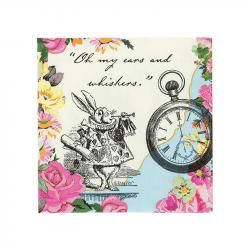 """Serviettes """"Alice aux pays des Merveilles"""" (x20)"""