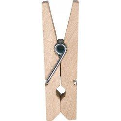 Pinces en bois (x12) - Naturel