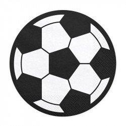 Serviettes Ballon de foot (x20)