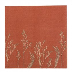 Serviettes Terracotta ( x16)