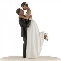 Figurine Le Couple Romance - peau noire