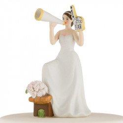 """Figurine La Mariée """"Fan"""""""