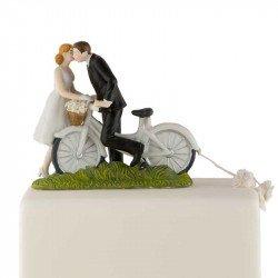 Figurine Les Mariés à Vélo
