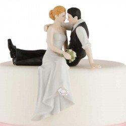 Figurine Les Mariés assis Face à Face