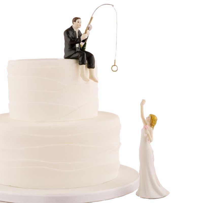 Figurine le marié à la pêche