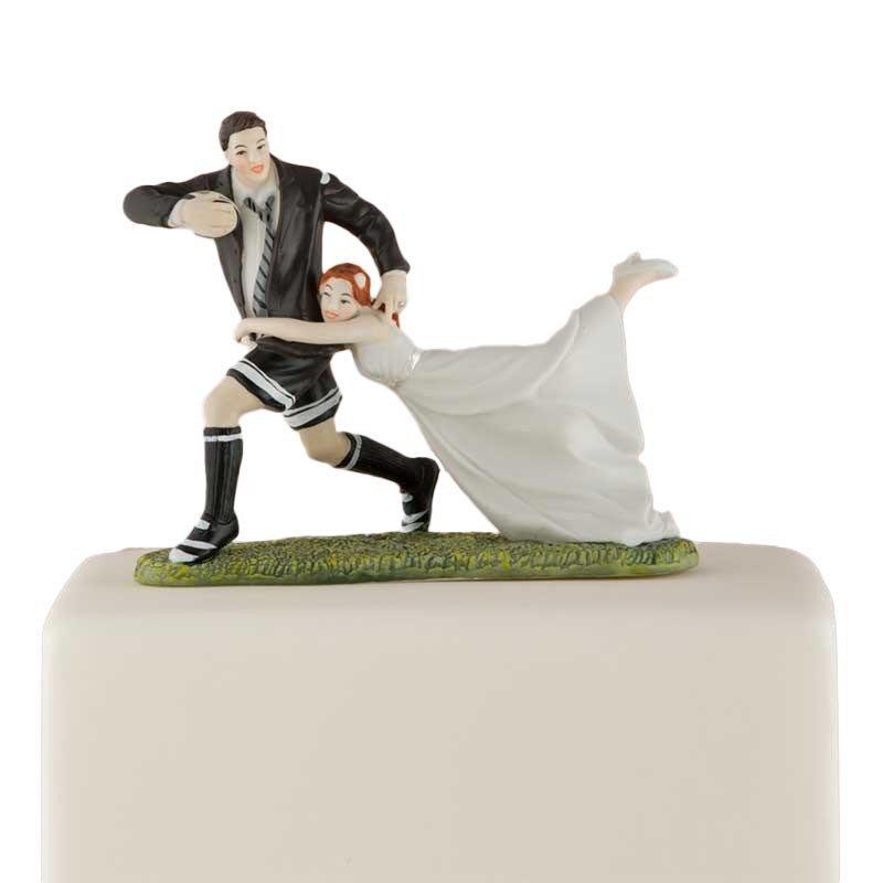 Figurine le marié marque l'essai