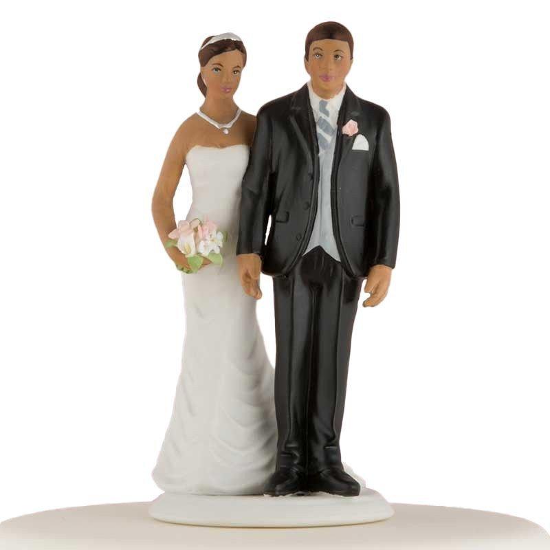 Figurine la mariée coquine - Ethnique