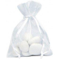 Sachets organdi (x10) - Blanc