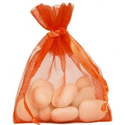 Sachets organdi (x10) - Orange