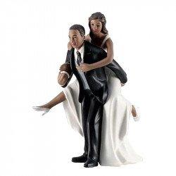 Figurine le Marié Rugbyman - Ethnique