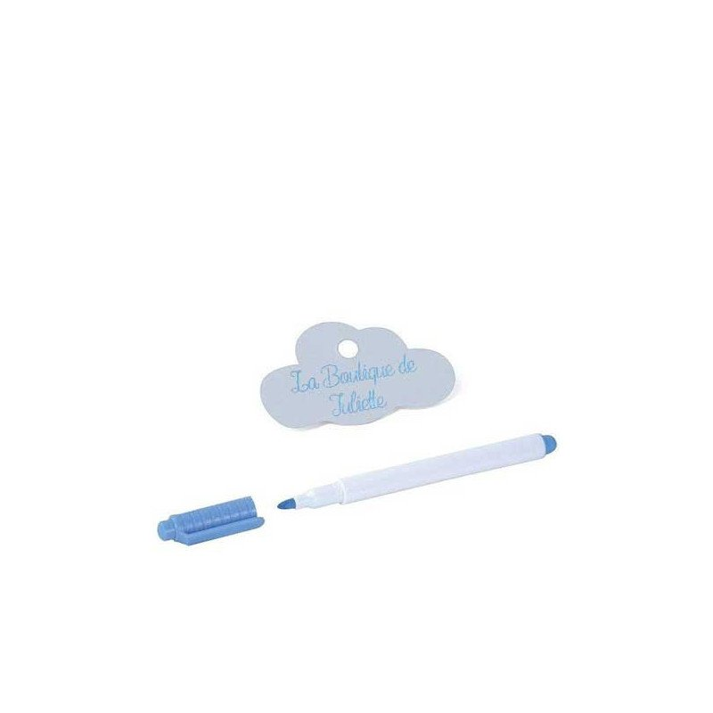Étiquettes en nuage blanc (x24)