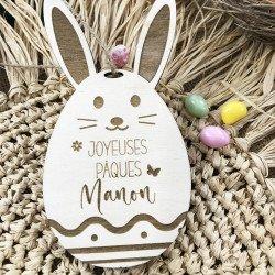 """Décoration à personnaliser """"Joyeuses Pâques"""""""