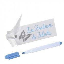 Étiquettes Papillon (x10)