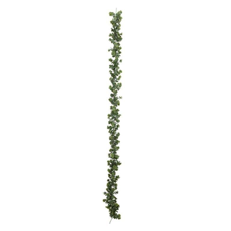 Guirlande d'eucalyptus vert blanchi - 1,80M