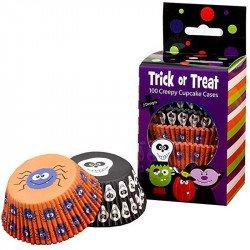 Moules à cup cakes Halloween -100 unités